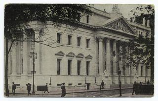 Appellate Court Building, New York City.  Image courtesy of New York Public Library Collection.