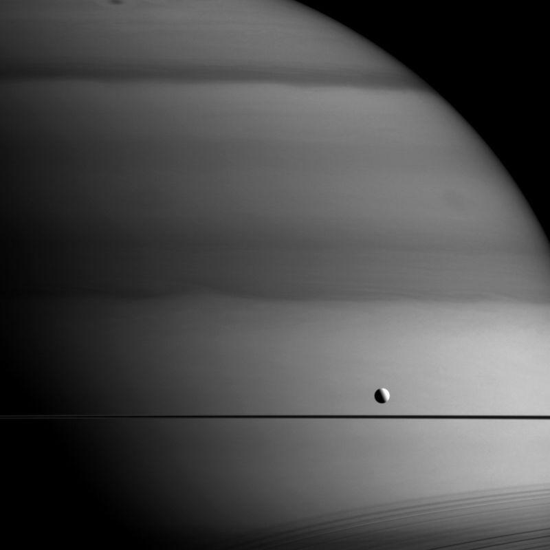 Jupiter and Moon. NASA. 0915.
