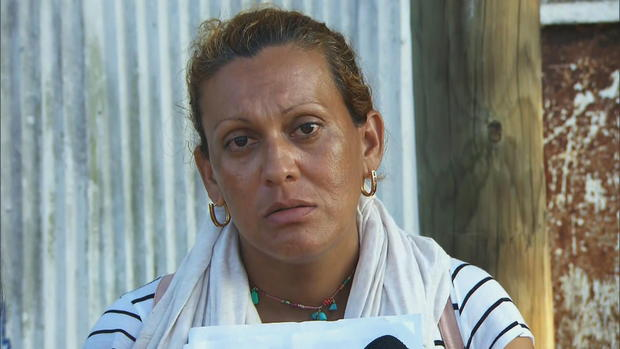 Idenia Rocha from Nicaragua. CBS NEWS