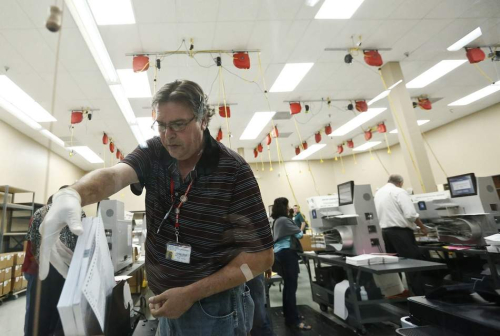 Vote recount in Broward County (AP Photo.Brynn Anderson).