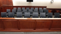 Jury Box (Empty) Brennan Linsley . AP
