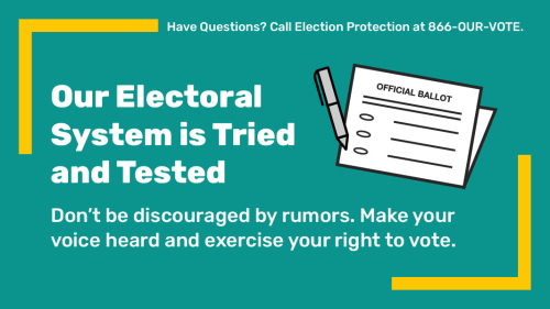 Trust Your Vote.10.29.20. 46053AF0-6BC7-44B9-848B-555EA93ABBD8